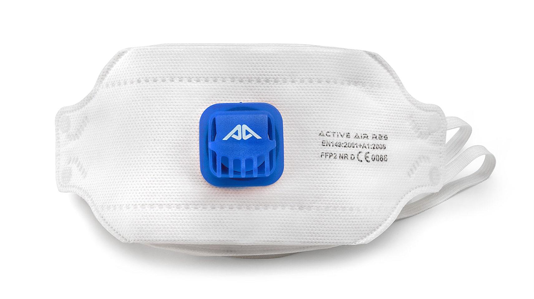 3D маска с клапан Active Air R25 FFP2 NR D
