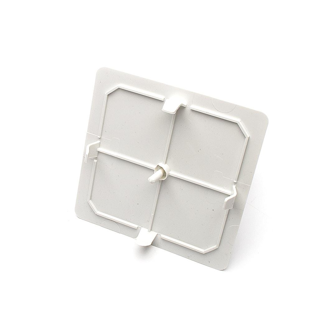 Капаче за Разклонителна кутия, Скрит монтаж, 80х80 мм