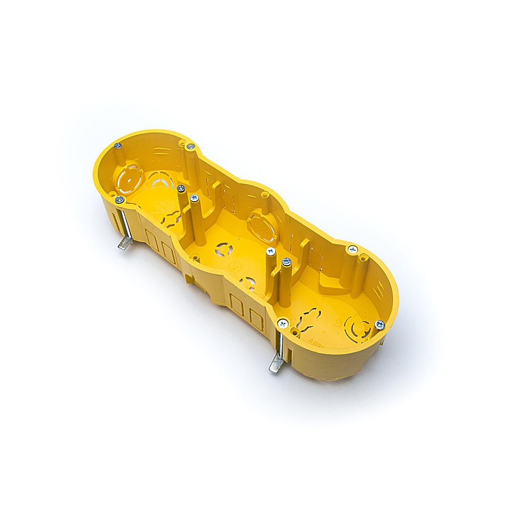Конзолна кутия за гипсокартон 03, Тройна